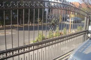 psacél kerítés